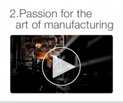 Passion for art of manufacturing