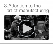 Thought for art of manufacturing